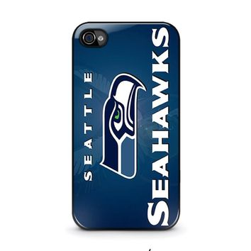 SEATTLE SEAHAWKS iPhone 4 / 4S Case Cover
