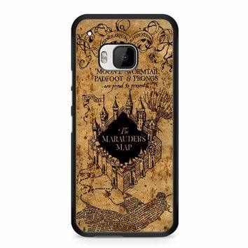 Harry Potter The Marauders Map HTC M9 Case