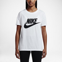 The Nike Signal Logo Women's T-Shirt.