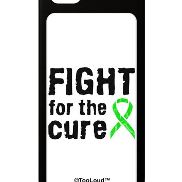 Fight for the Cure - Lime Green Ribbon Lyme Disease iPhone 5 / 5S Grip Case  by TooLoud