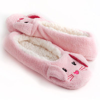 Capelli Bunny Slipper Socks