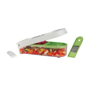 Vidalia Food Vegetable Chop or Dicer Wizard with Storage Bin