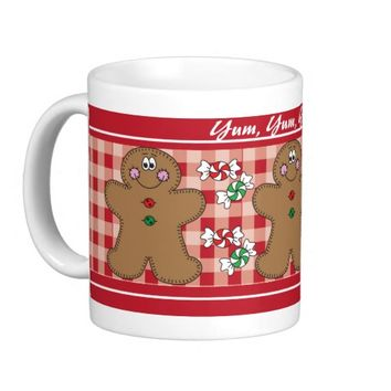 Yum, Yum, Yummy Gingerbread Mug