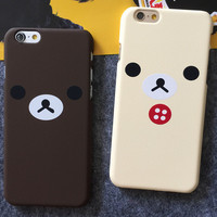 Cute Bear iPhone 5s 6 6s Plus Case Gift-98
