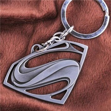 Popular Anime Superman S Logo Fashion Alloy Unisex Key Chain Pendant = 1946441604