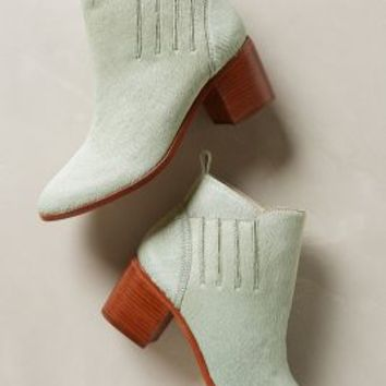 Kari Mint Booties by Charlotte Stone