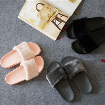 2017 Fashion Flat Thick Crust Slippers [10788525263]
