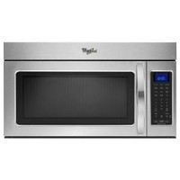 Whirlpool 1.9 cu. ft. Over the Range Microwave in Stainless Steel with Sensor Cooking WMH32519CS at The Home Depot - Mobile