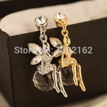 1PCS/Univeral dust plug 3.5mm Luxury crystal Earphone Plug For Iphone  for Samsung& for HTC,anti dust plug