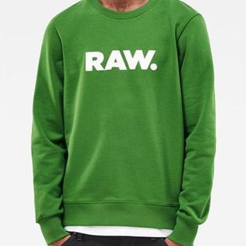 Raw Green Sweat Shirt