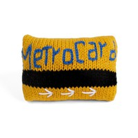 Organic Metrocard Rattle Baby Toy