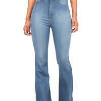 Jango Flared High Waist Denim