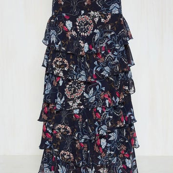 We Can Sangria on One Thing Maxi Skirt | Mod Retro Vintage Skirts | ModCloth.com