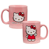 "Hello Kitty ""Poka Dot"" 12oz. Ceramic Mug"