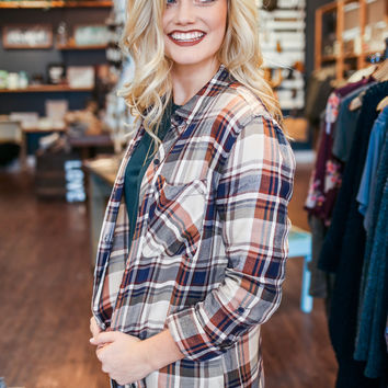 Good Karma Flannel Top