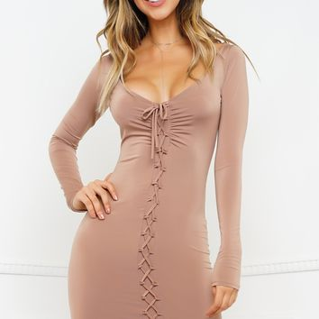 Emmalyn Dress - Mocha