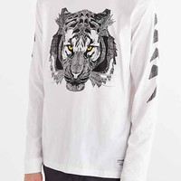 Supremebeing Ali Lakra Long-Sleeve Tee- White