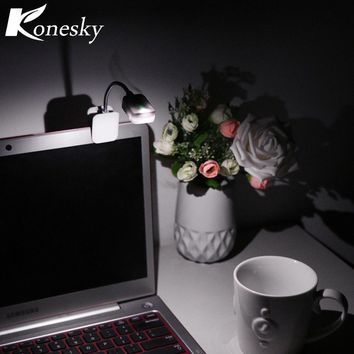 For Kindle Note Book Light Booklight Led Ebook Light Mini Flexible Clip-on Book Reader Reading Lamp