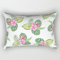 tropical Rectangular Pillow by Sylvia Cook Photography