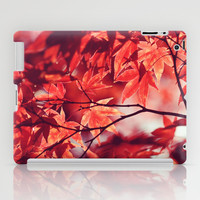 Autumn Reds iPad Case by Shilpa