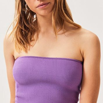 LA Hearts Neon Sweater Tube Top | PacSun