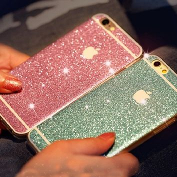 Bling Bling Giltter Protective creative case for iPhone