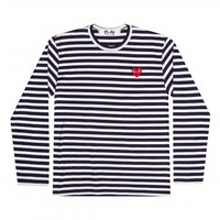 Play Striped T-Shirt (Navy/White)