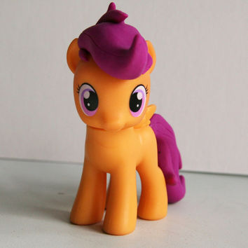 SCOOTALOO Custom Sculpt MLP Figure by alltheApplesCustoms on Etsy