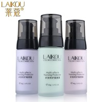 Face Smooth Primer Make Up Base Pores Invisible Brighten Dull Skin Color Whitening Cream Wrinkle Cover Makeup BB Cream Cosmetics