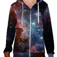 Milky Way Zip-Up Hoodie