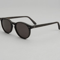 bois2 - une recycled wood sunglasses black spruce black lenses
