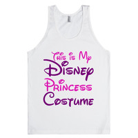 this is my disney princess costume tank