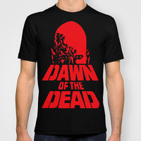 Dawn Of The Dead Horror Zombie Cult T-shirt T-shirt by arul85 | Society6