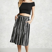 Contemporary Stripe Skirt