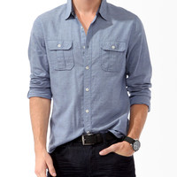 Soft Chambray Shirt | 21 MEN - 2017768939
