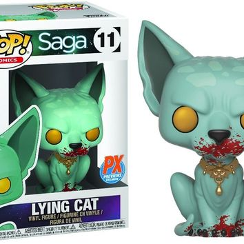 Bloody Lying Cat Funko Pop! Comics Saga Free Comic Book Day Exclusive