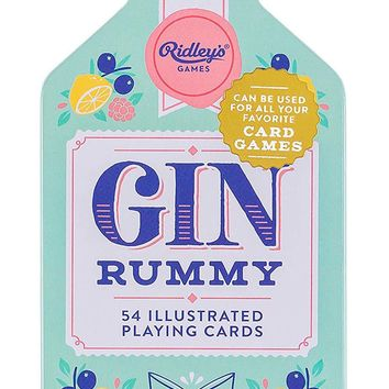 Gin Rummy Playing Cards Game