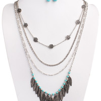 Lily Boho Necklace Set