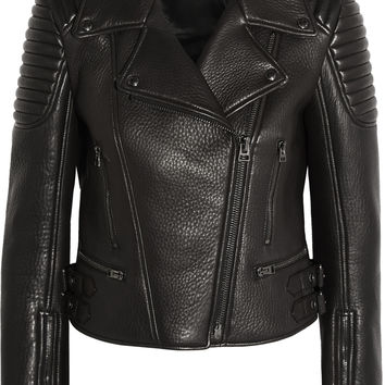 Tom Ford - Textured-leather biker jacket