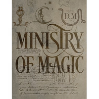 Harry Potter Ministry Of Magic Poster