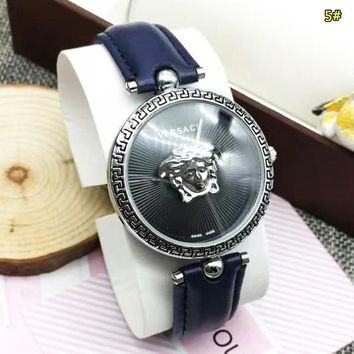 Versace Watch Fashion New Dial Women Men Watch Wristwatch