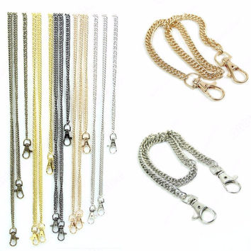 E74 High Quality Purse Handbags Bags Shoulder Strap Chain Replacement Handle Hot 40cm