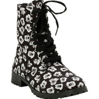 Disney Mickey Mouse Printed Boots