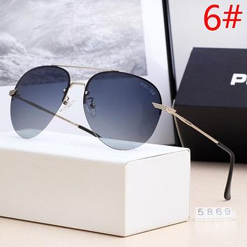 Police Fashion New Polarized Couple Sunscreen Travel Leisure Drive Eyeglasses Glasses