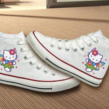CREYONB Hello Kitty Converse Shoes