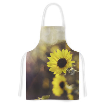 "Libertad Leal ""Magic Light"" Flower Artistic Apron"