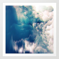 Soft Water Art Print by Printapix