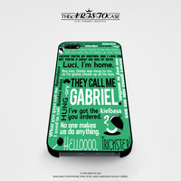 Supernatural Quote Wording Art 4 case for iPhone, iPod, Samsung Galaxy, HTC One, Nexus