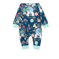 Baby Girl boy Clothes New Newborn baby cotton baby girl's sliders long-sleeved baby product baby jumpsuit