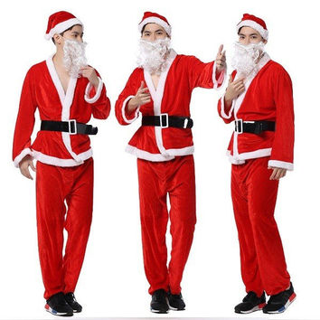 Men's Christmas Performance Clothes